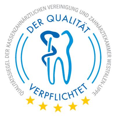 Qualitätssiegel Zahnärztekammer - Ärztehaus LaVie in Dorsten